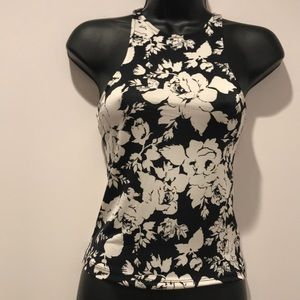 Urban outfitters rose patterned tank